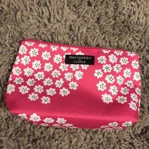 Clinique floral makeup bag